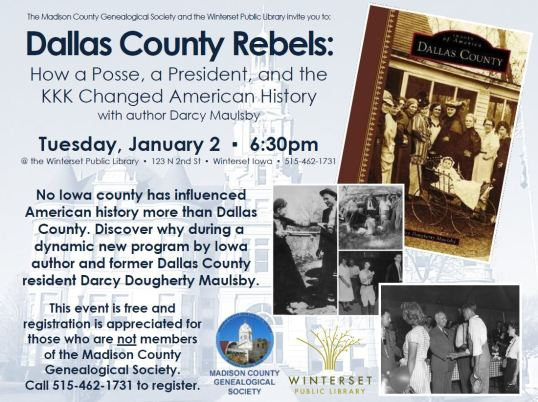 Dallas County history program